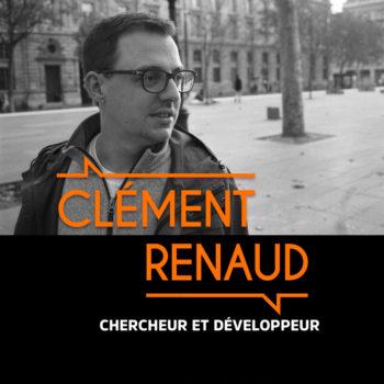 Clément Renaud, Chercheur et développeur – #BMG10