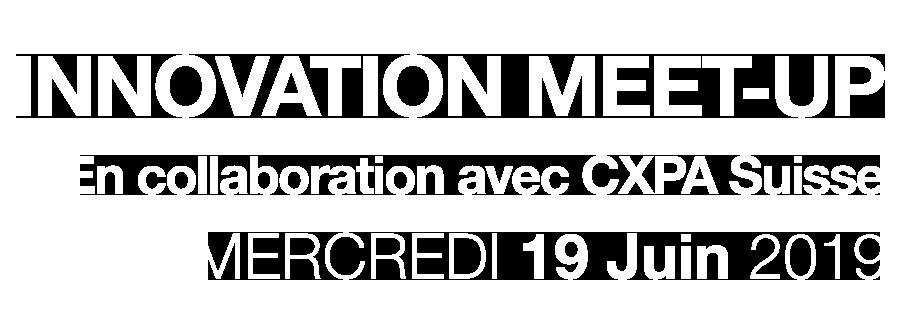 | Innovation<br/>Meet-Up