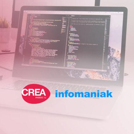 CREA lance une formation en partenariat avec Infomaniak