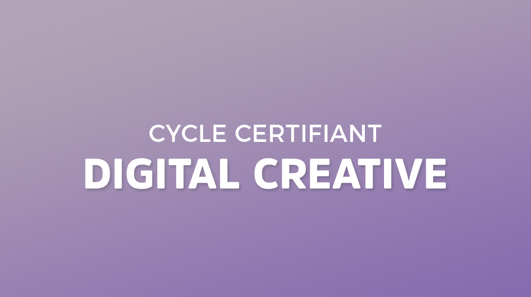 Cycle Certifiant Digital Creative